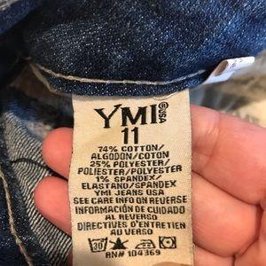 YMI Shorts - YMI American Flag Denim Shorts